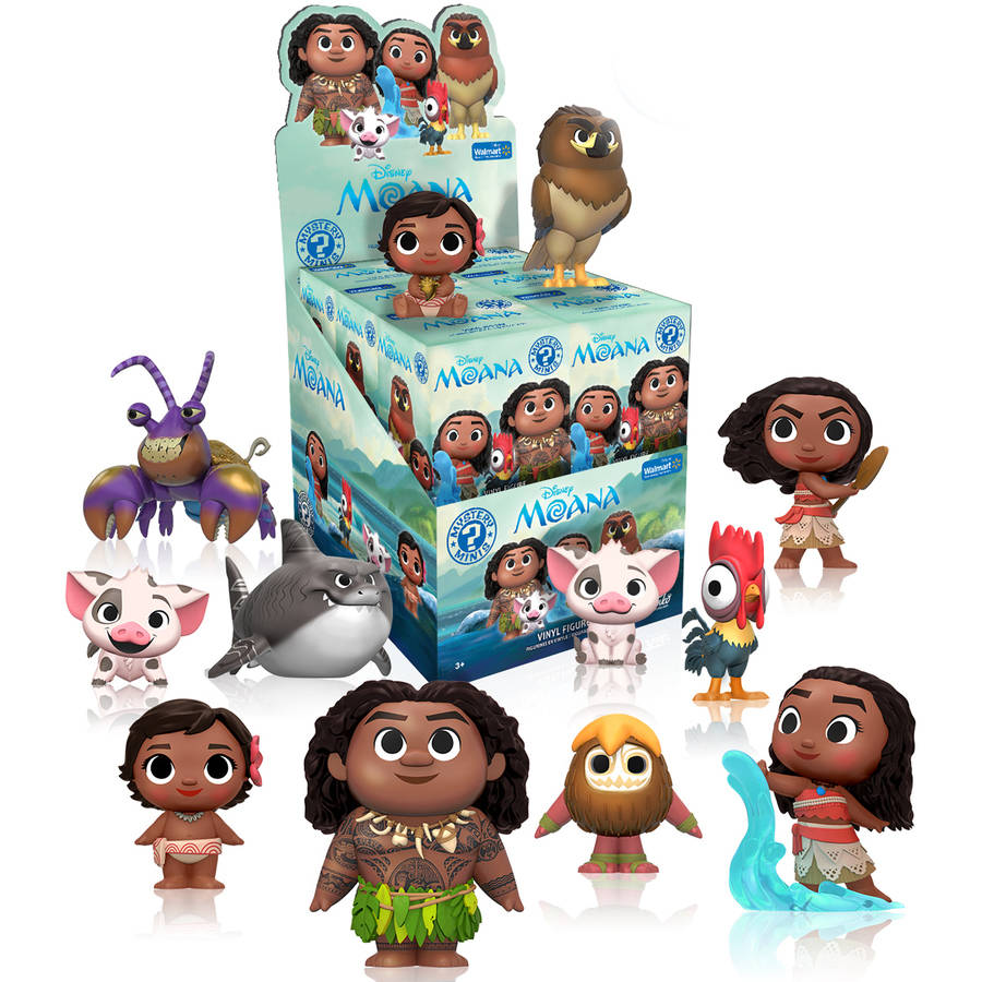 Funko Mystery Minis Disney Moana Walmart Exclusive Moana Blind Box Figure NEW