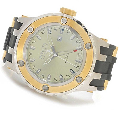 Invicta 80585 Reserve Specialty Subaqua Swiss Quartz GMT Polyurethane Mens Watch