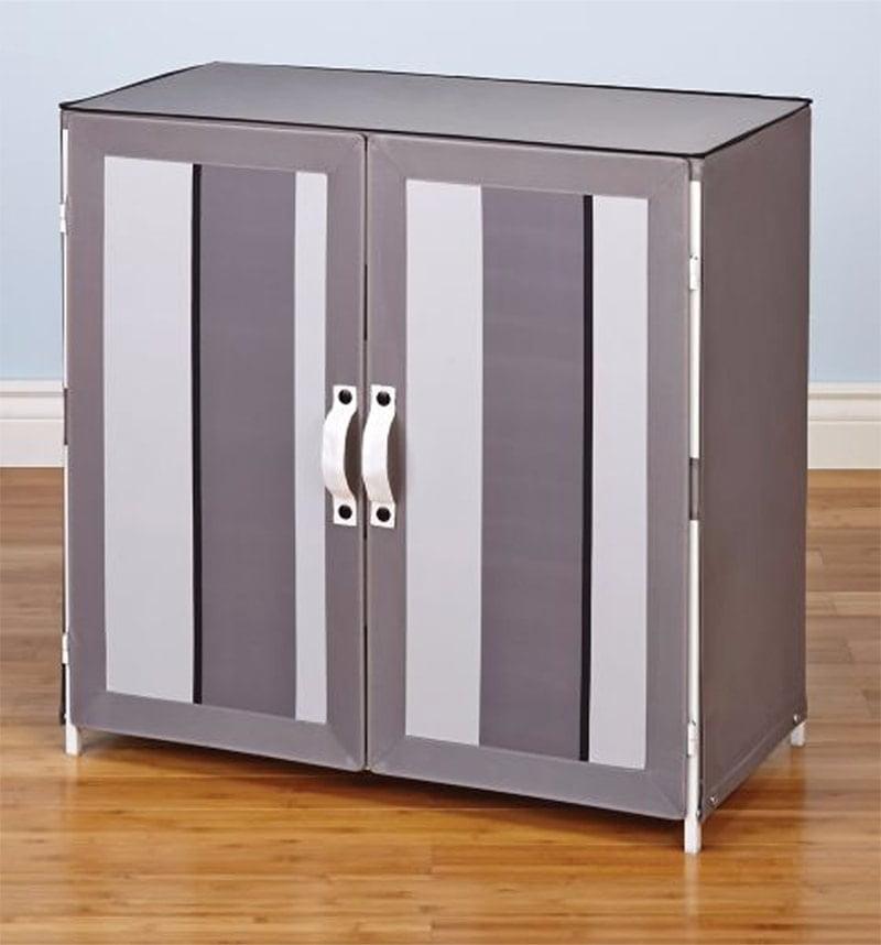Homestar Shoe Cabinet in Grey