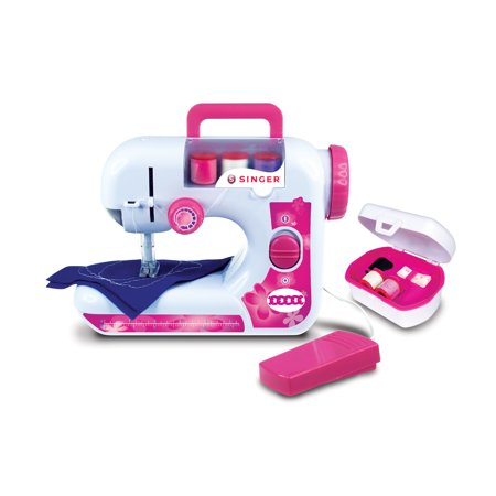 NKOK B/O Singer EZ-Stitch (Chainstitch) Sewing Machine w/ Sewing (Industrial Chainstitch Machine)