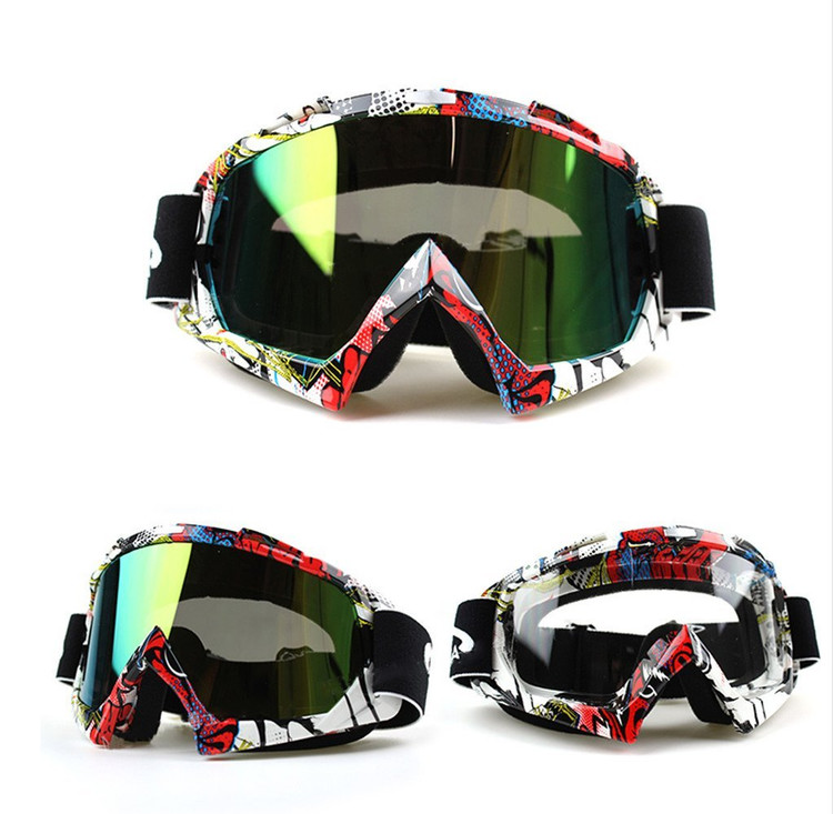 Ski Goggles, IFLYING Snow Skiing Snowboarding Motocross Dustproof Goggles Scratch-Resistant Bendable Unisex Goggles by IFLYING