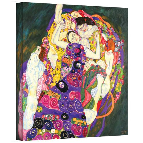 ArtWall ''Virgins'' by Gustav Klimt Painting Print on Canvas