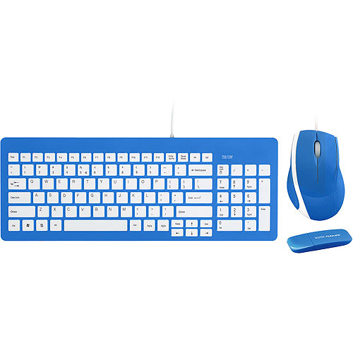 Filemate Imagine B2230 Bundle with Keyboard, Mouse and 4GB Contour USB Flash Drive, Assorted Colors