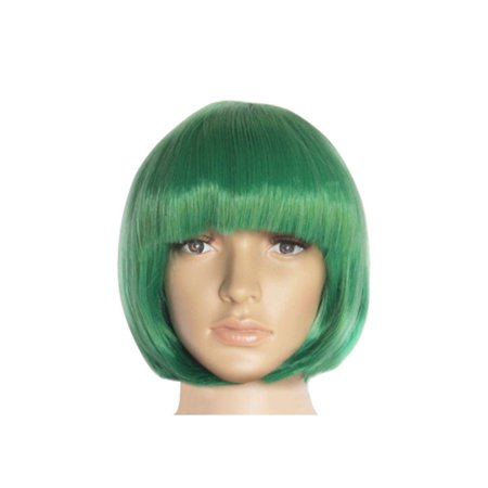 DYMADE Fashion New Women Lady Short Straight Hair Full Wigs Cosplay Party Bob Hair Wig 15color (Long Red Wigs Halloween)