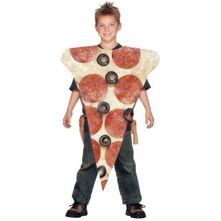 Childrens Pizza Slice Costume One Size](Diy Pizza Costume)
