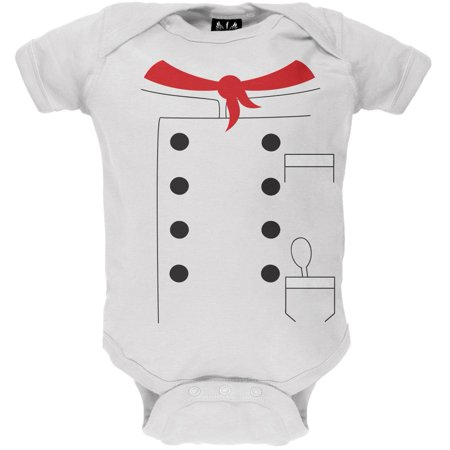 Halloween Chef Costume Baby One Piece - Chef And Baby Lobster Costume
