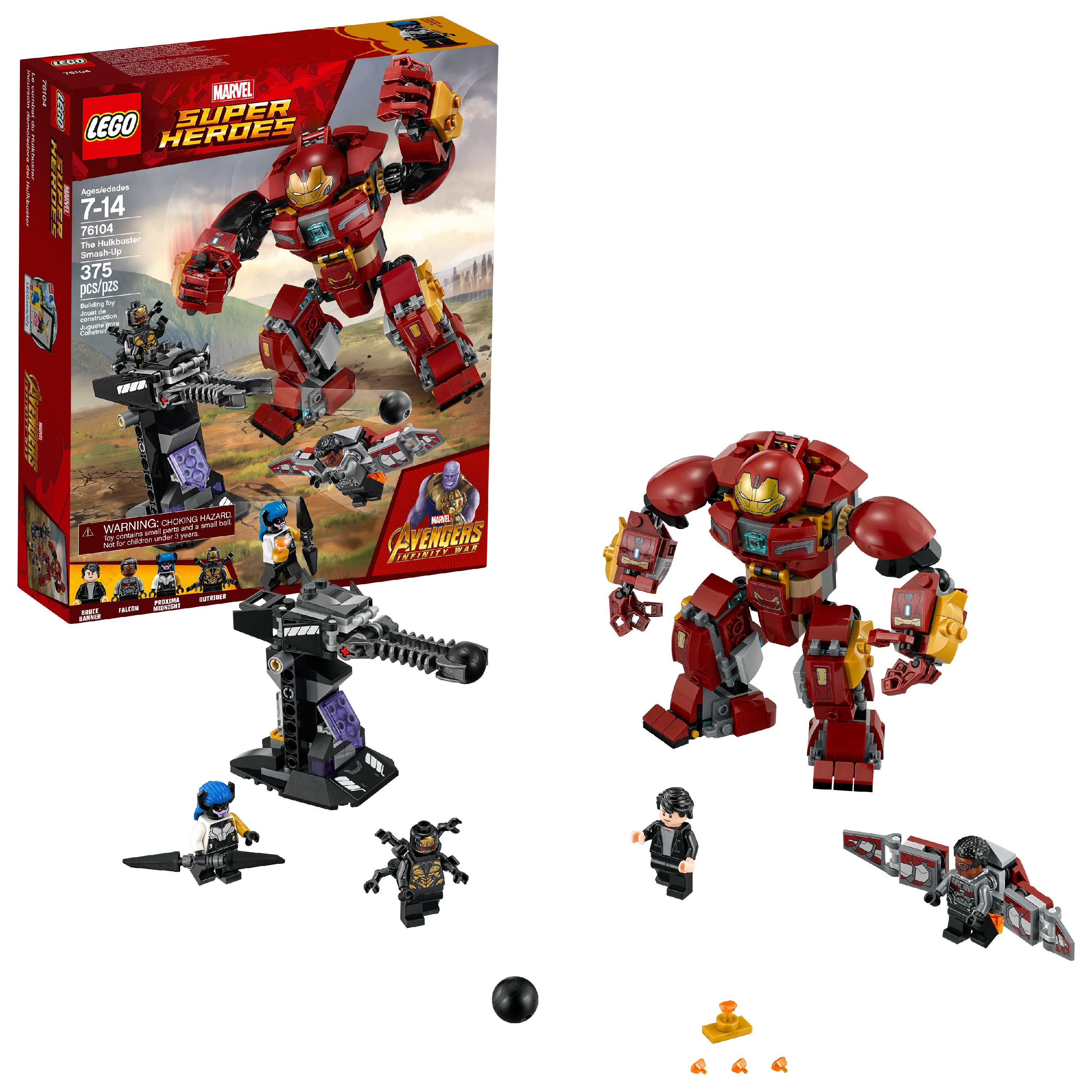 LEGO Super Heroes Marvel The Hulkbuster Smash-Up 76104