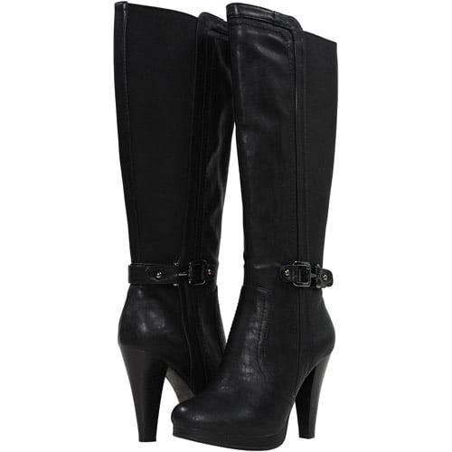 Vestiture Women's ZALANNA Expanded Wide Shaft Dress Boot, Medium Width