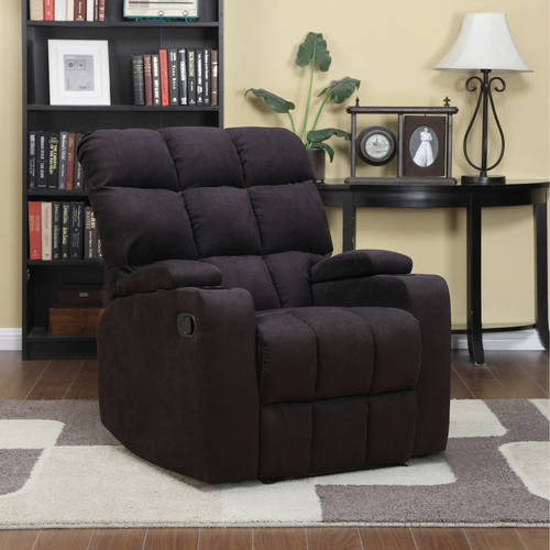 ProLounger Storage Arm Wall Hugger Microfiber Recliner, Multiple Colors