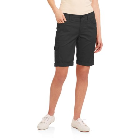Faded Glory Women's Cargo Bermuda Shorts - Walmart.com