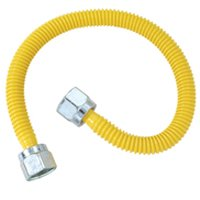 GAS CONNECTOR 3/8OD FLNUTX28