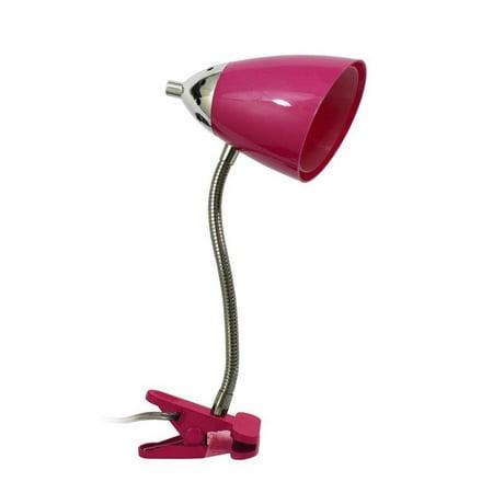 Flossy Flexible Gooseneck Clip Light Desk Lamp
