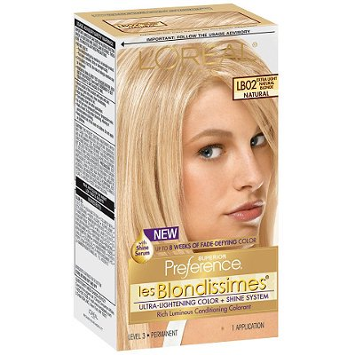 Loreal Paris Superior Preference Les Blondissimes Permanent Hair