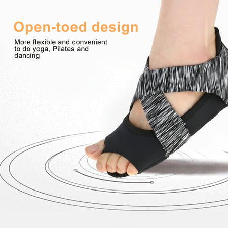 Soft Wrap Shoes,Zerone Women Yoga Non-slip Pilates Barre Soft Wrap Dance Training Shoes Grey