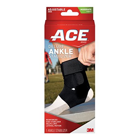 ACE Deluxe Ankle Stabilizer - Reinforced Side Support & Protection by ACE Deluxe Ankle Support