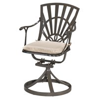 Home Styles Largo Outdoor Swivel Chair with Cushion