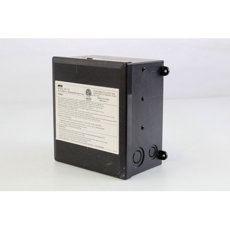 wfco/ arterra t-57-r power transfer switch 57 series transfers power  between shore and generator