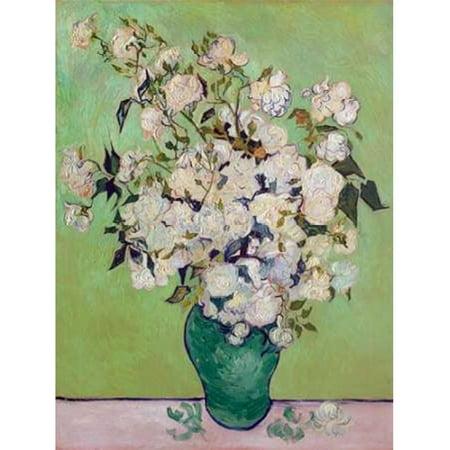 Roses Poster Print by Vincent Van Gogh 11 X 14 Van