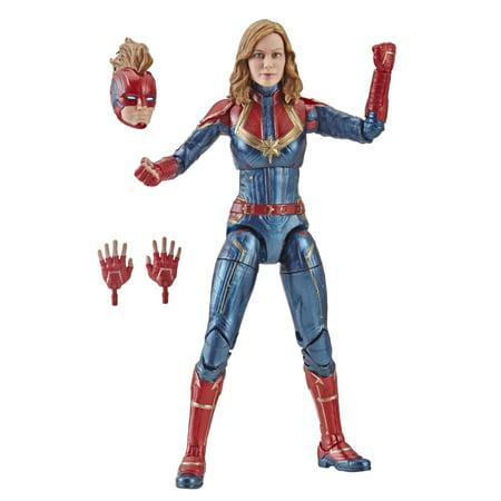 Marvel Captain Marvel 6-inch Legends Captain Marvel in