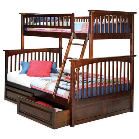 Columbia Bunk Bed Twin Over Full In Multiple Colors And