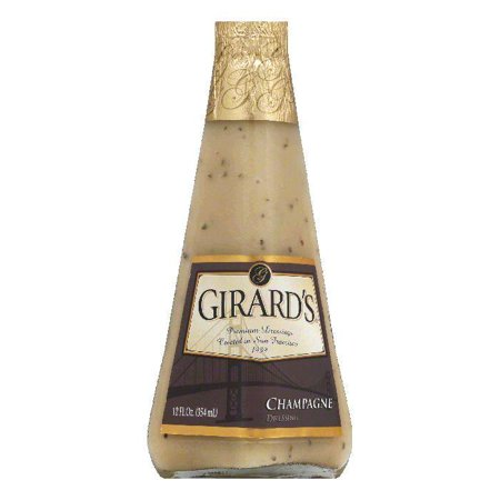Girard's Dressing Champagne, 12 OZ (Pack of 6)