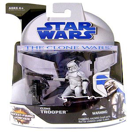 Star Wars Clone Wars 2008 Clone Trooper Action Figure