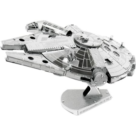 Metal Earth Star Wars Millennium Falcon 3D Metal Model Kit2 Sheets - Difficulty Level Moderate By Fascinations - Rc Millennium Falcon