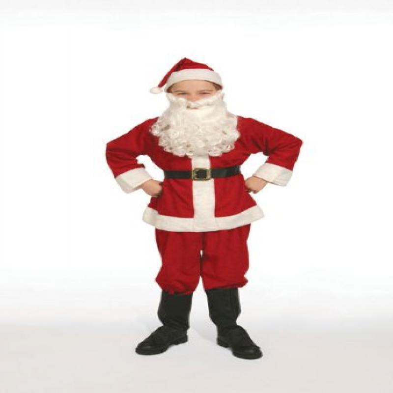 Complete Santa Claus Suit Set Child Costume Size 12 Large...