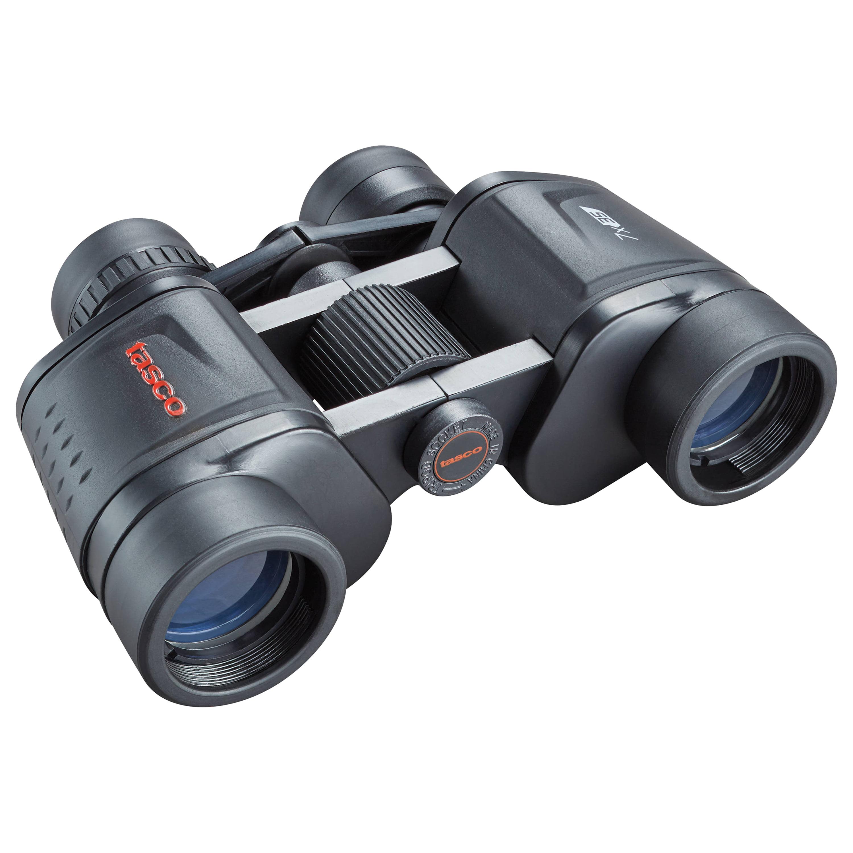 Tasco Essentials Binoculars 7x35mm, Porro Prism, Black, Boxed