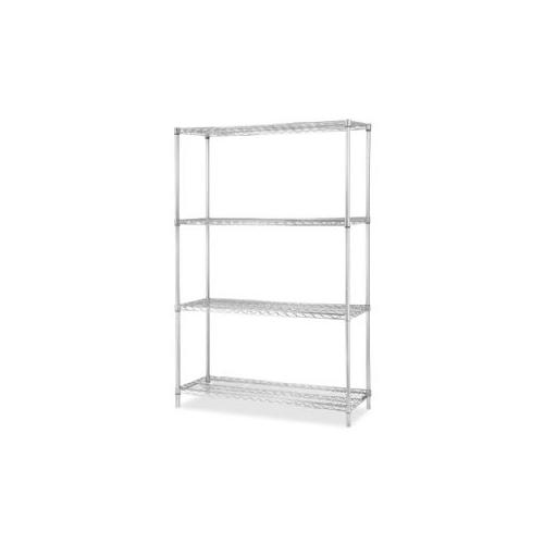 Lorell Industrial Wire Shelving Add-on Unit-84188