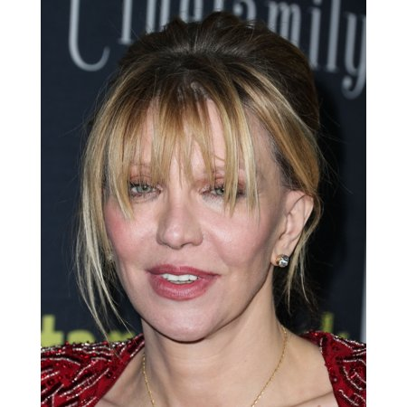 Courtney Love At Arrivals For Kurt Cobain Montage Of Heck Premiere By Hbo Rolled Canvas Art -  (8 x