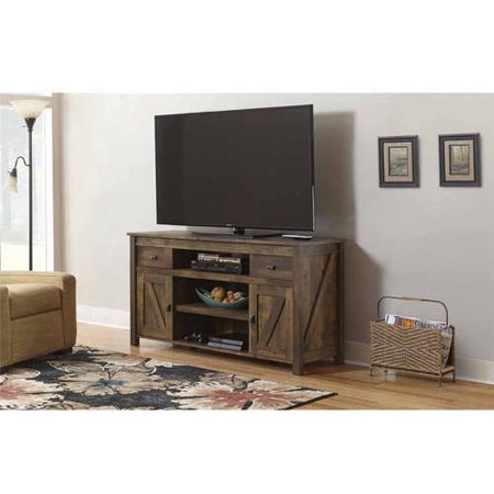 Better homes and gardens falls creek tv stand for tvs up to 60 century barn pine Home garden tv