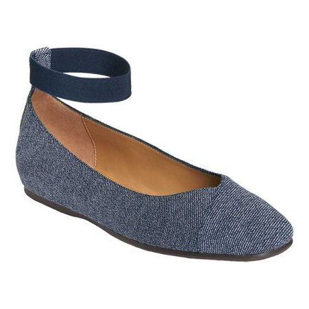 Women's Aerosoles Spearmint Ankle Strap Ballet Flat