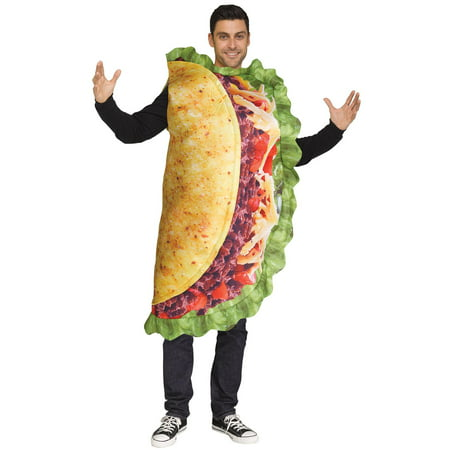 Funny Taco Adult Costume - Funny Adult Costumes 2017