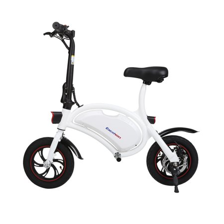 Excelvan Folding Electric Bike, 250W/36V Lightweight E-Bike Collapsible Electric Bicycle Scooter With Cruise Mode, LED Headlight, Speed Up to 20km/h affordable electric bikes for adults women