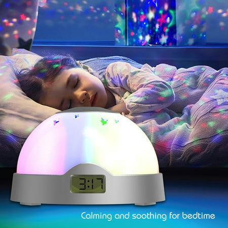 Aura LED Projection Clock