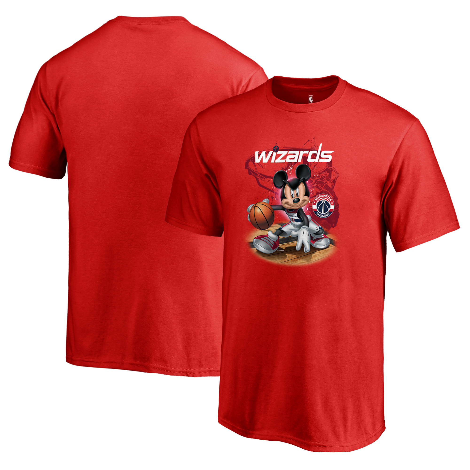 Washington Wizards Fanatics Branded Youth Disney NBA All-Star T-Shirt - Red