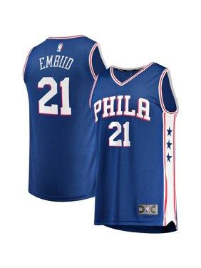 Joel Embiid Philadelphia 76ers Fanatics Branded Youth 2019/20 Fast Break Replica Jersey - Icon Edition - Royal