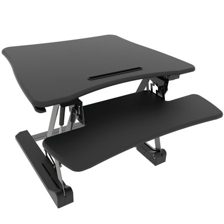 Height Adjustable Standing Desk Vertical Converter Riser