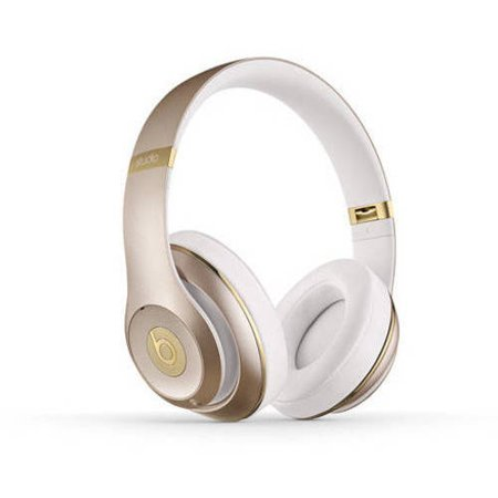 Beats by Dr. Dre Wireless Studio 2.0 Over-the-Ear Headphones, Gold by