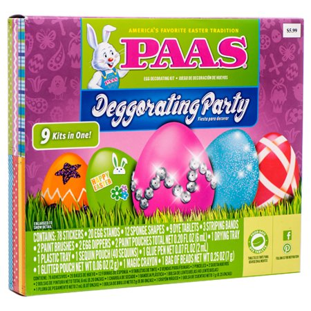 New 379829  He Egg Deco Kit Paas Deggorating Party (22-Pack) Easter Cheap Wholesale Discount Bulk Seasonal Easter Stick - Cheap Party