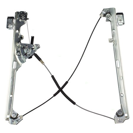 Passengers Front Manual Window Lift Regulator Assembly