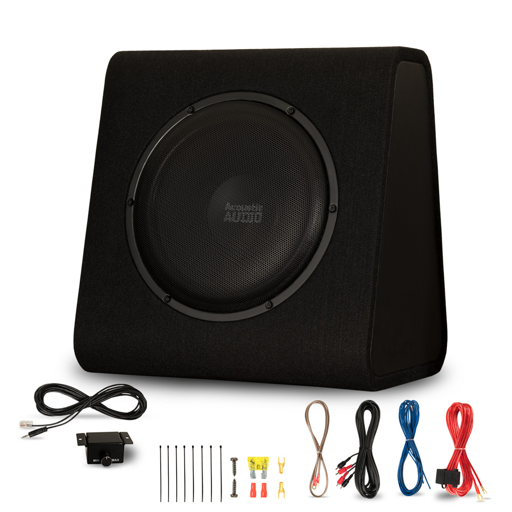 """Acoustic Audio ACA12WG Powered Amplified 12"""" Car Ported"""