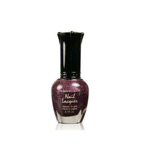 KleanColor 0.5oz Nail Polish Purple, KISS GOODBYE, 171