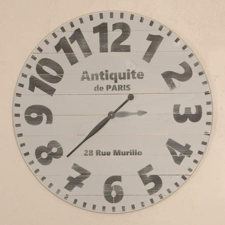 BrandtWorks Antique de Paris Oversized Wall Clock ()