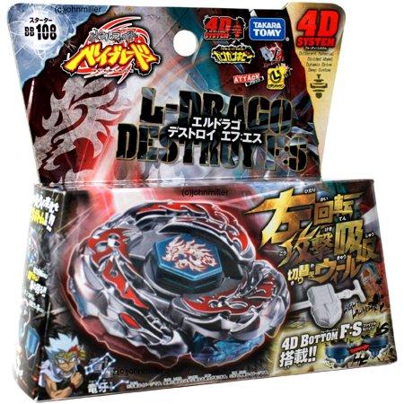 L-Drago Destroy F:S Beyblade Starter Set BB-108 - Beyblade Baby