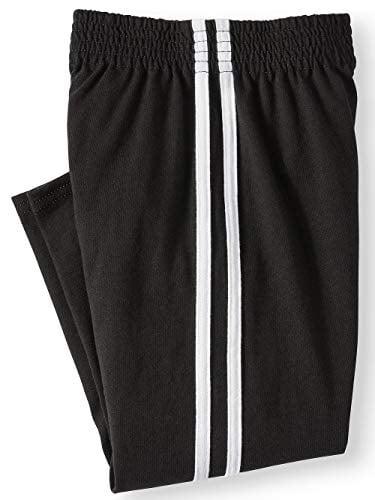 Garanimals Toddler Boy Jersey Tape Athletic Pants Sweatpants (Black, 4t)