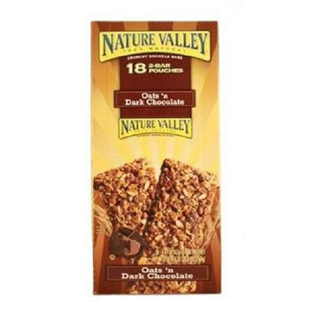 NATURE VALLEY CRUNCH BAR OATS N DARK CHOCOLATE 1.49 oz Each ( 18 in a Pack