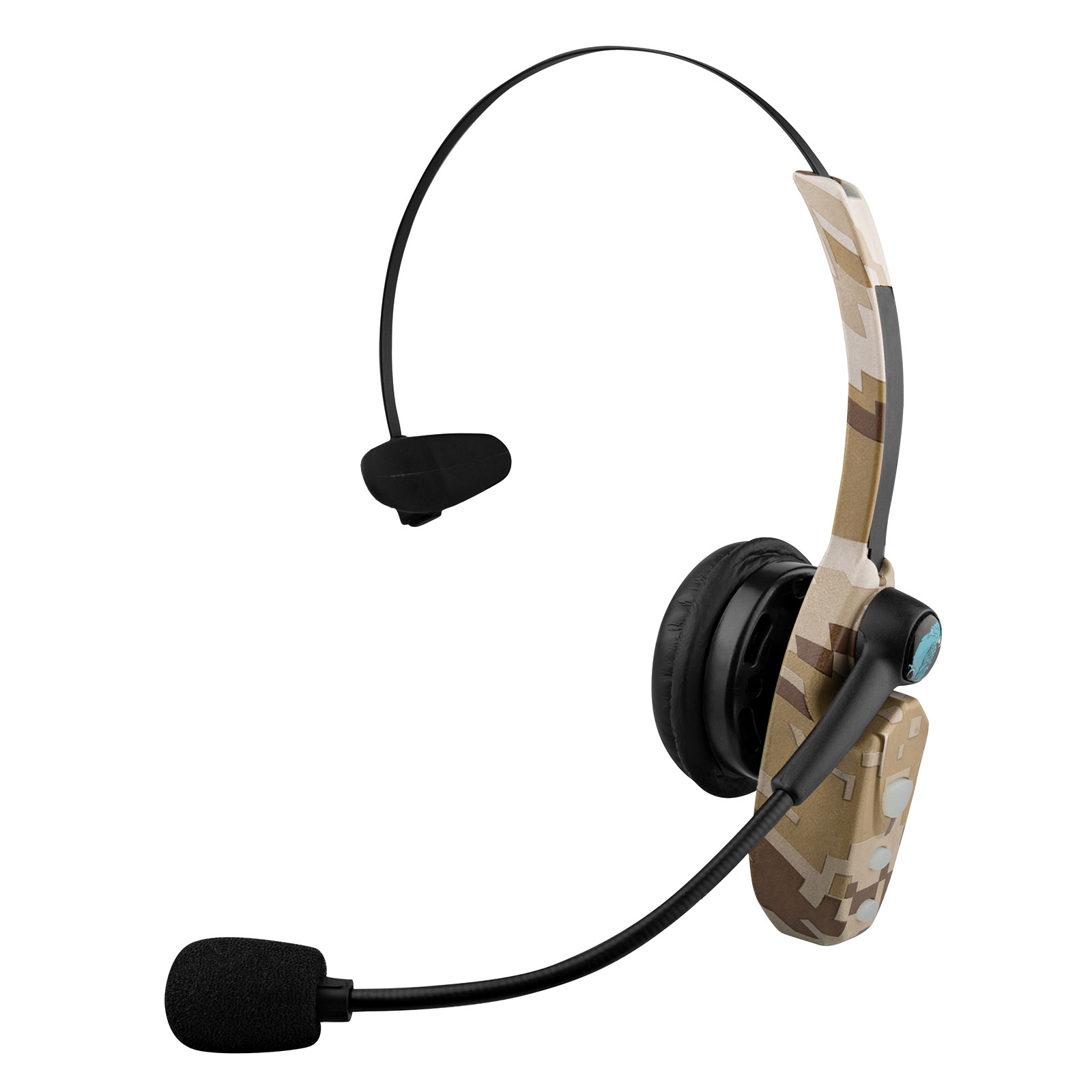 0044818856a VXI BlueParrott B250-XT+ Noise Cancelling Bluetooth Headset Wounded Warrior  Edition (Camo) (Refurbished) - Walmart.com