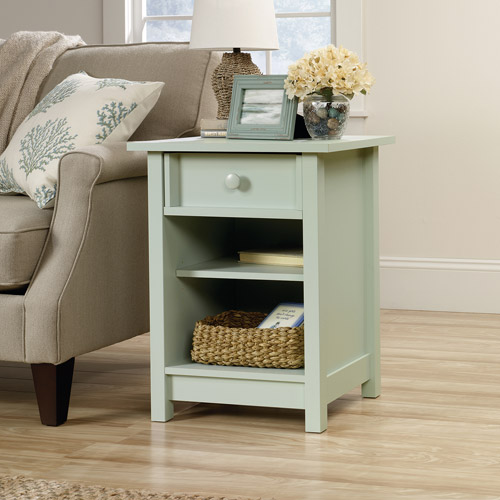 Sauder Original Cottage Collection Side Table, Rainwater
